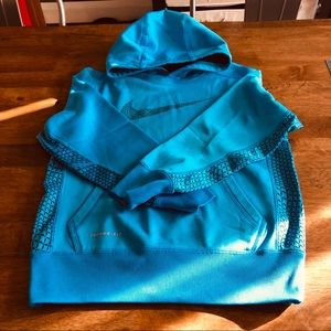 EUC Nike Therma-Fit Hooded Sweatshirt SZ YS